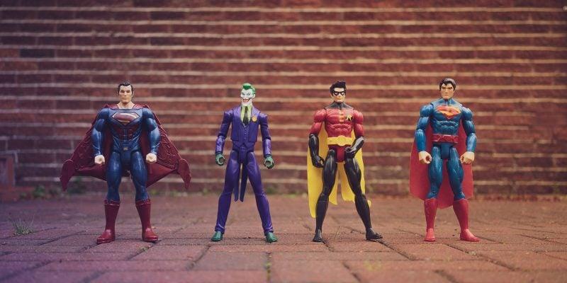 Four Superhero Action Pieces
