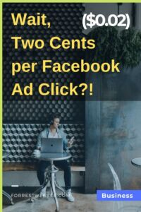 Wait, Less Than Two ($0.02) Pennies for Facebook Ad Clicks_!
